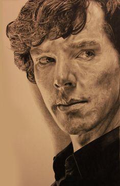 Sherlock Drawing by ~Lewis3222 on deviantART