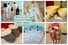 lots of gift ideas!