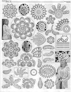 """Dawn, I don't know what this is, but it has """"crochet"""" in the title so....  White necklace with diagrams"""