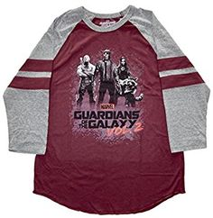 #10: Guardians of the Galaxy Group Men's Raglan T-shirt