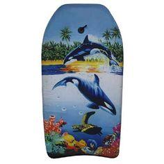 Bodyboard 82 cm  Surf op de golven op dit leuke Bodyboard! Het Bodyboard wordt geleverd met een surftouw met polsband met een klittenbandsluting.  EUR 7.99  Meer informatie