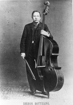 Giovanni Bottesini the most successful Double Bass soloist to ever live (around 1860)