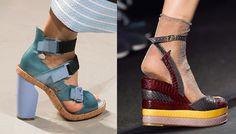 Топ - 5 обувных трендов весны 2015/The Top 5 Shoe Trends For Spring 2015
