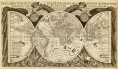 Old map of the world by Lopatin Photo on @creativemarket