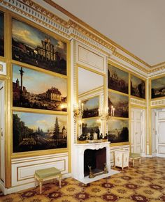 The Canaletto Room 1776-1777. The Royal Castle in Warsaw