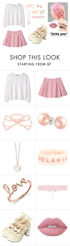 """""""Untitled #226"""" by alyssamarie126 ❤ liked on Polyvore featuring Acne Studios, Ted Baker, Bling Jewelry, GUESS, Hot Topic, Sydney Evan, Bodyline, GET LOST and Lime Crime"""