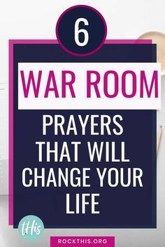 Learn how to create a powerful war room prayer strategy with these easy steps. Includes sample war room prayers to get you started. Prayer Scriptures, Bible Prayers, Faith Prayer, My Prayer, Bible Verses, Catholic Prayers, Prayer Closet, Prayer Room, Faith Quotes