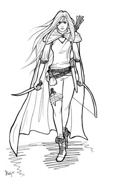 Warrior Princess Celaena Sardothien