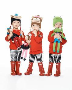 The Ken Downing Gift Collection - Animal Hats & Dolls by Zubels at Neiman Marcus.
