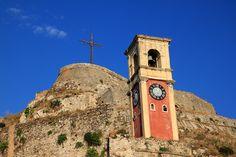 Old fortress, Corfu town Corfu Town, Corfu Island, Corfu Greece, Greece Islands, Byzantine, Castles, Medieval, Greek, Photos