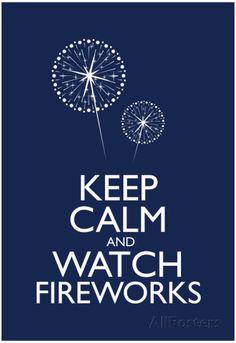 Wells' Firework Poster | Wells