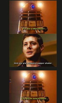 Superwho!! Yeah you could try to kill dean... But he's bound to be brought back eventually. Then he'll kill your evil ass.