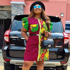 Ankara Styles For Women, Latest Ankara Styles, African Dresses For Women, African Attire, Ways To Wear A Scarf, How To Wear Scarves, African Fashion Skirts, Ankara Gowns, Africa Fashion