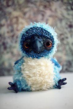 blue parrot by da-bu-di-bu-da on deviantART