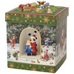 Christmas Toys Geschenkpaket groß, eckig Schneespaß 19cm - Villeroy & Boch