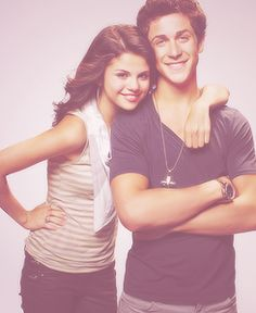 alex russo, and her brother, wizzards of waverly place.