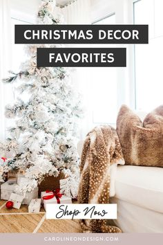 Looking for Christmas decor ideas for your home this year? Here are some of my absolute favorite Christmas decor items for 2020!