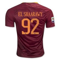 16-17 Roma Home #92 EL SHAARAWY Cheap Replica Jersey [G00706]
