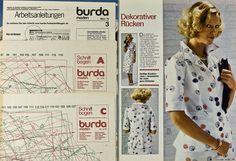 Burda Moden 03.1976 in Libros, revistas y cómics, Revistas, Moda y estilo de vida | eBay
