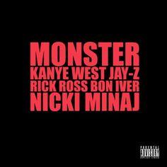 """09 Kanye West ft. Jay-Z, Nicki Minaj, Rick Ross and Bon Iver - """"Monster"""""""