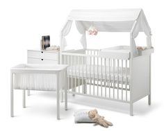 Cuna y mini cuna, Stokke® Home http://www.mamidecora.com/muebles-infantiles-stokke-home.html