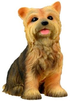 Yorkshire Terrier Puppy / Dog - Yorkie Statue Figurine Sculpture Model: This gorgeous Yorkshire Terrier Puppy / Dog - Yorkie Statue Figurine Sculpture Model has the finest details and highest quality you will find anywhere! Yorkshire Terrier Puppy / Dog - Yorkie Statue Figurine Sculpture Model is truly remarkable.Yorkshire Terrier Puppy / Dog - Yorkie Statue Figurine Sculpture Model Details: ; Condition: Brand New ; Item SKU: SS-Y-6324 ; Dimensions: H: 3.5 (inches) ; Crafted with: Re...