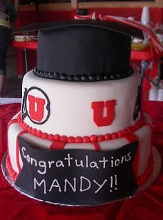 Sprinklebelle Cakes University Of Utah Cake