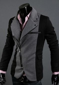 NEW! Men's Two-Tone Causal Luxury Suit