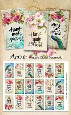 ArtCult Printable Images are great for your art and craft projects.  This is a digital product. You can print these images as many times as you need.
