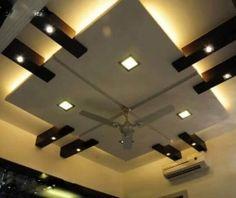 Pop Fall Ceiling Design Ideas - Tips Cepat Drawing Room Ceiling Design, Simple False Ceiling Design, Simple Ceiling Design, Gypsum Ceiling Design, Interior Ceiling Design, House Ceiling Design, Ceiling Design Living Room, Bedroom False Ceiling Design, House Front Design