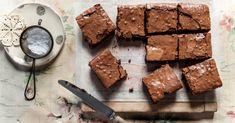 brownies de chocolate sem farinha