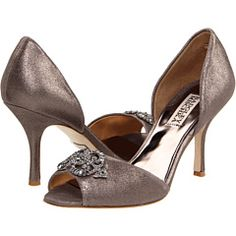 badgley mischka salsa in pewter metallic - I couldn't resist them!