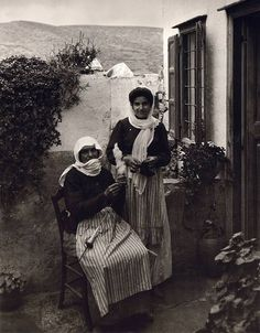 In Amorgos island, Greece by Fred Boissonnas Mykonos, Santorini, Greece Pictures, Old Pictures, Old Photos, Vintage Pictures, Greek Men, Old Greek, Corfu Greece