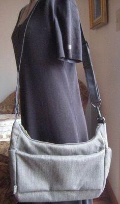 Pacsafe Citysafe Exomesh Anti-theft Travel Shoulder Crossbody Bag Gray #Pacsafe #MessengerCrossBody