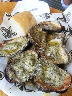 Neyow's Creole Cafe. New Orleans, LA. Best grilled oysters!!