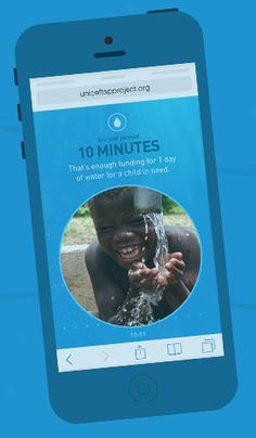 Give UNICEF's Tap Challenge a shot! Read more about it on Healthee Life's blog
