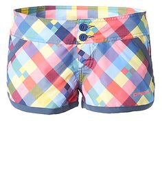 Boardshorts Check Maid Boardy Shorts by O'Neill  #surfing #shorts #beach