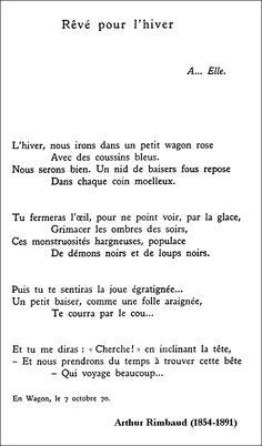Arthur Rimbaud - Rêv