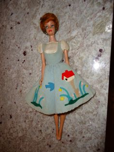Vintage bubble cut Barbie Doll