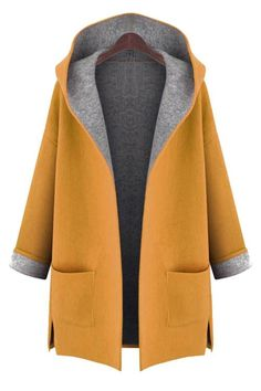 Cheap hooded cardigan, Buy Quality women winter directly from China cardigan hood Suppliers: New 2017 Large Size womens winter jackets and woolen coats hooded cardigan Windbreaker manteau femme show thin abrigos mujer Oversize Pullover, Plain Hoodies, Coats For Women, Clothes For Women, Ladies Coats, Stylish Plus, Stylish Coat, Plus Size Coats, Mode Hijab