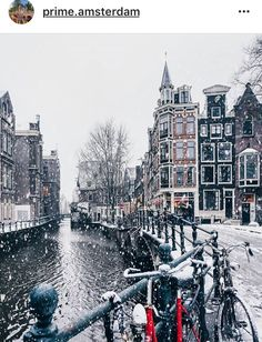 Winter in Netherlands Winter Photography, Travel Photography, Amazing Photography, Amsterdam Photography, Places To Travel, Places To See, Images Murales, Winter Scenery, Travel Aesthetic