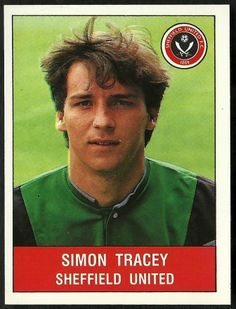 Panini Football 91 Simon Tracey