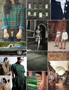 Collegiate Inspiration Board | Camille Styles. I know it's supposed to be spring, but I'm in love with fall.
