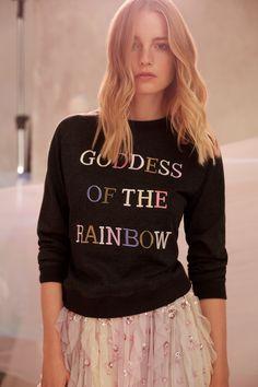 Goddess of the rainbow 🌈  Needle & Thread