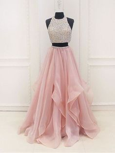 Nice Trends Prom Dresses Custom Made A Line Round Neck 2 Pieces Pink Prom Dresses, 2 Pieces Pink Formal D... Check more at http://24myshop.ml/my-desires/trends-prom-dresses-custom-made-a-line-round-neck-2-pieces-pink-prom-dresses-2-pieces-pink-formal-d/