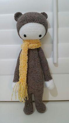 Gemaakt naar een patroon van laylala . Gebruikt garen een bolletje Sokken wol!