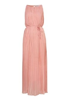 For Maternity Session - Pink Ruffle Top Fascia Floor Length Chiffon Dress $55.13