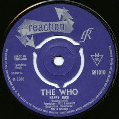 Rare Records, Vinyl Records, Cd Cover, Album, Rock N Roll, The Who, Happy, 1960s, Music