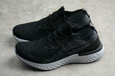 best sneakers 5181e 68e17 Officiel Unisex Nike Epic React Flyknit Black Noir White blanc AQ0060-001 Youth  Big Boys