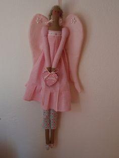 Tilda Doll Newborn Angel Ange de nouveau nès by lallehandmade